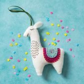 Corrine Lapierre - Llama Felt Craft Mini Kit